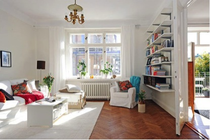 5 tips to make a small room look bigger thinking inside - How to make a small space look bigger ...