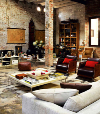 warehouse style apartment