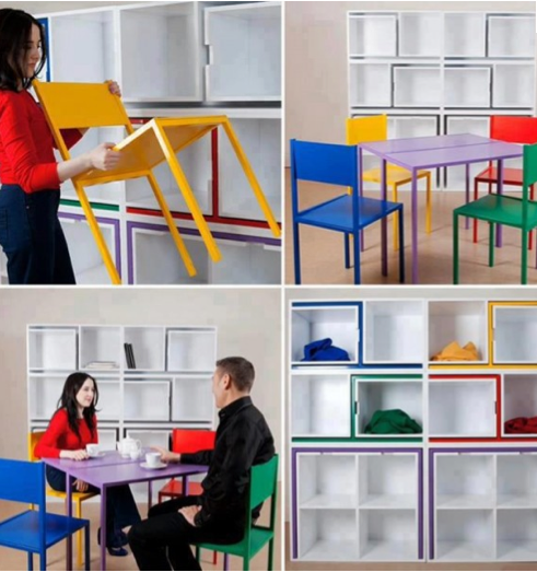 Innovative Space Saving Furniture : Thinking Inside the Box