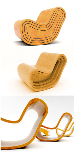 Space saving chairs