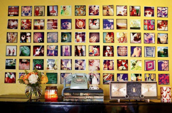 Photo Wall Ideas | Thinking Inside the Box